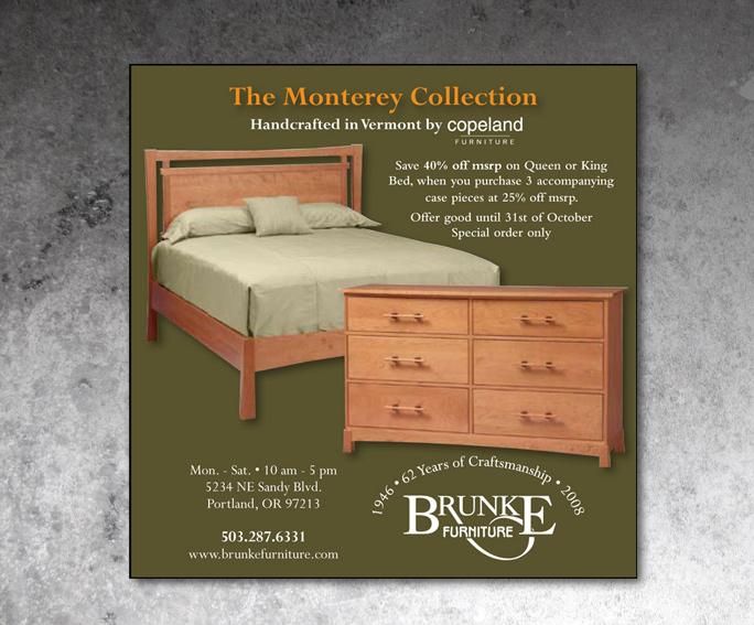 Brunke Furniture Ad