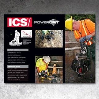 ICS Blount - PowerGrit Trade Show Booth