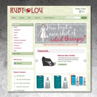 ShopRubyLou.com - E-Commerce Web Site Design