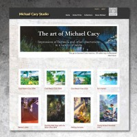 Michael Cacy Studio - E-Commerce Web Site Development